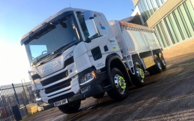 New Scanias with factory fitted PeoplePanels® enter service with Stakia Haulage on Hanson contract